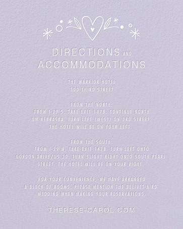Iconic Brides (Invitation) - Lavender/White - Paperless Post - All - insert front