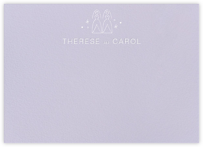 Iconic Brides (Stationery) - Lavender/White - Paperless Post -