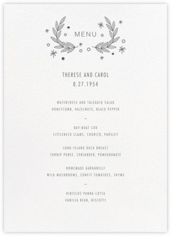 Iconic (Menu) - White/Charcoal | tall