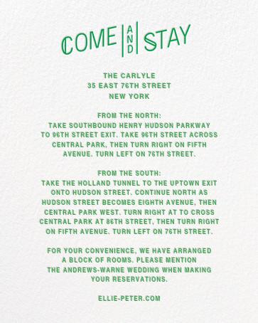 Bulletin (Invitation) - Emerald - Paperless Post - All - insert front