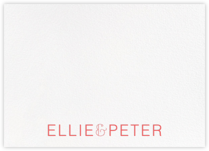 Bulletin (Stationery) - Coral | null