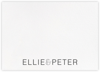 Bulletin (Stationery) - Slate - Paperless Post - Personalized Stationery