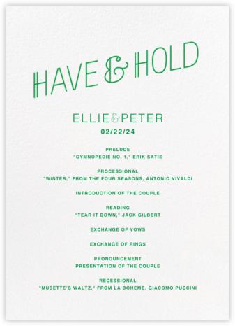 Bulletin (Program) - Emerald | null