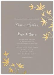 Oliver Park II (Invitation) - Taupe/Gold