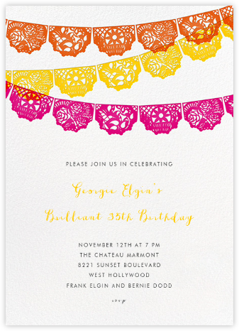 Tulum - Multi - Paperless Post - Adult birthday invitations