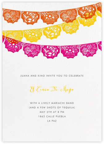 Tulum - Multi - Paperless Post - Cinco de Mayo Invites