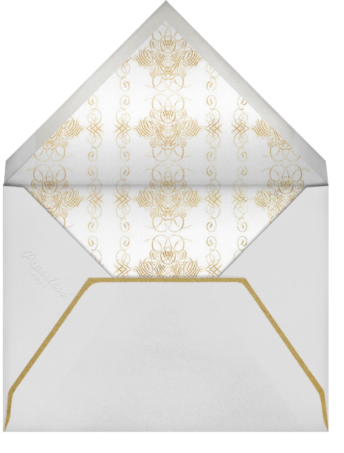 Crux (Invitation) - Gold - Bernard Maisner - Envelope