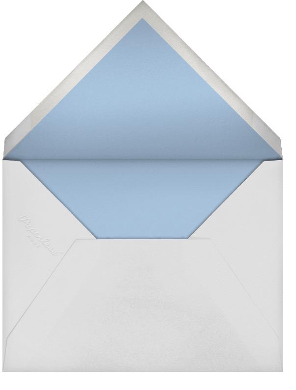 Magen David (Invitation) - Spring Rain - Bernard Maisner - Baby naming and bris - envelope back