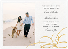 Belle Boulevard (Photo Save the Date) - Gold