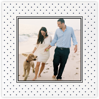 La Pavillion II (Photo Save the Date) - Navy - kate spade new york - Save the dates