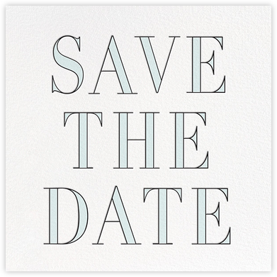 Prism - Blue - kate spade new york - Save the dates
