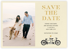 Tandem I (Photo Save the Date)