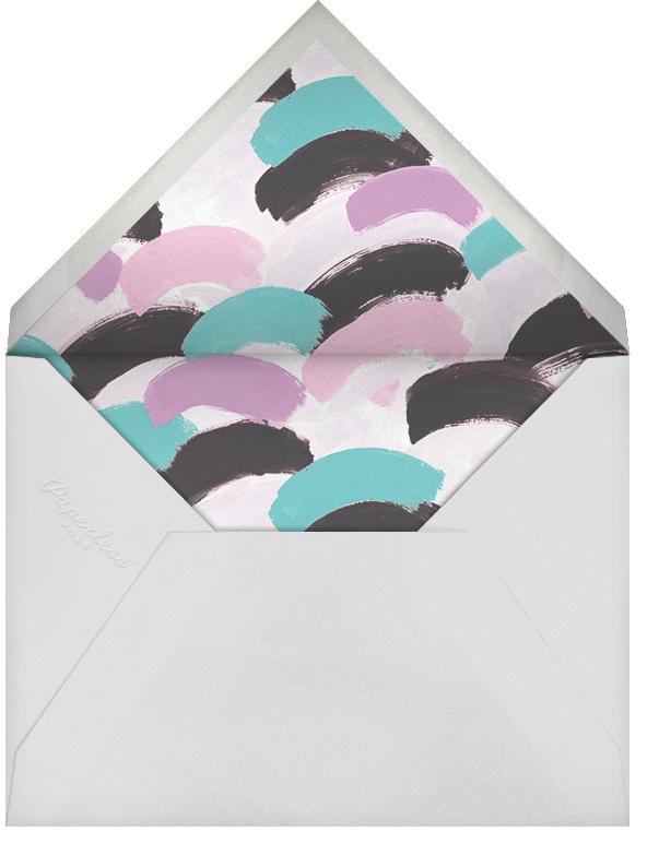 Dappled - Lagoon/Gold - Ashley G - Kids' birthday - envelope back