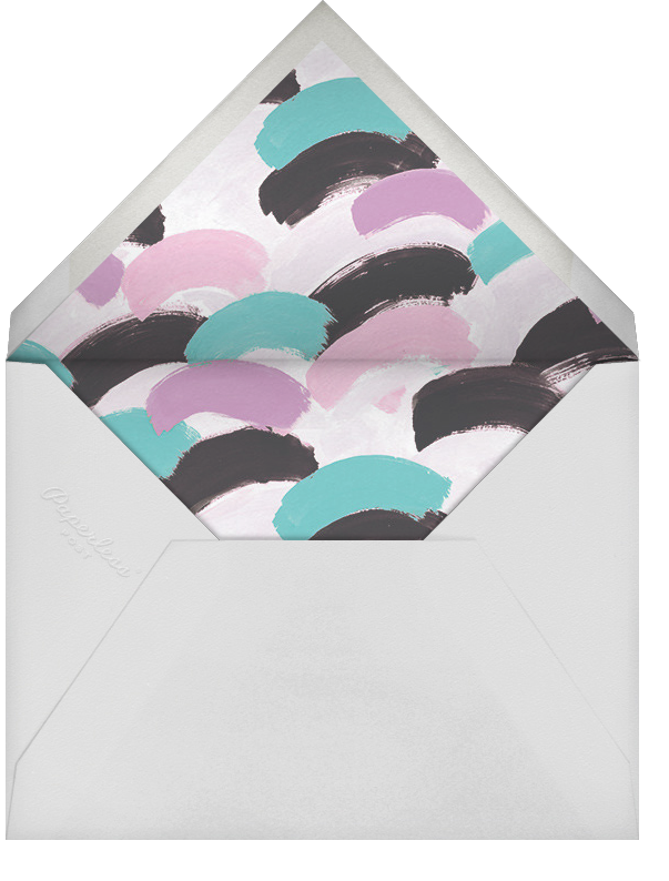 Dappled (Photo) - Lagoon/Rose Gold - Ashley G - Kids' birthday - envelope back