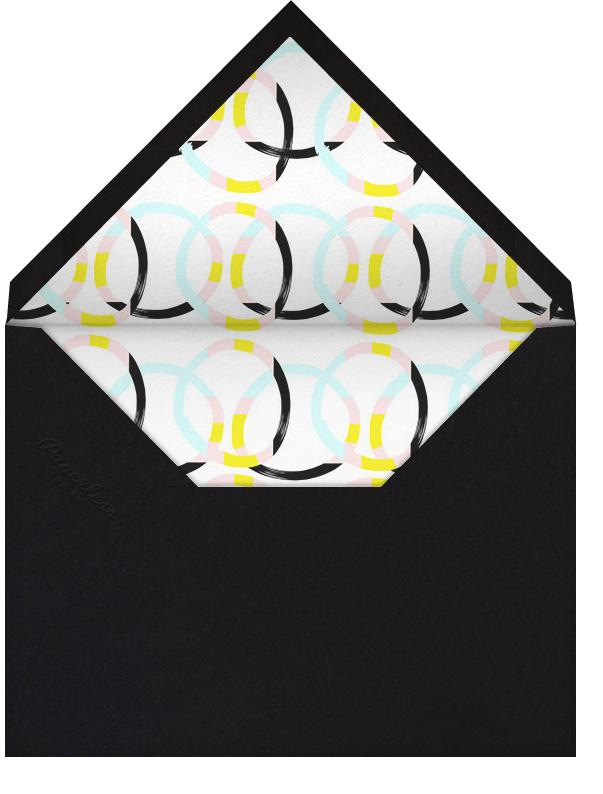 Pandamonium - Ashley G - Kids' birthday - envelope back