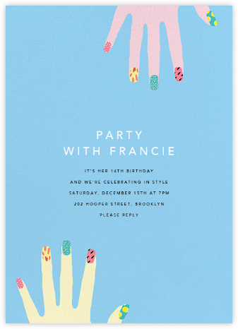 Reach Out - Ashley G - Online Kids' Birthday Invitations