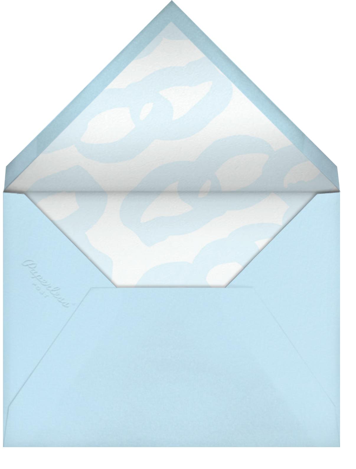 Sleepover - Black - Ashley G - Kids' birthday - envelope back