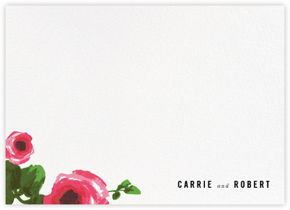 Rose Bed (Stationery) - kate spade new york - Personalized stationery