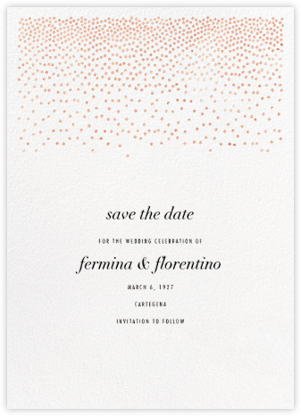 Jubilee II (Save the Date) - Rose - Kelly Wearstler - Kelly Wearstler wedding