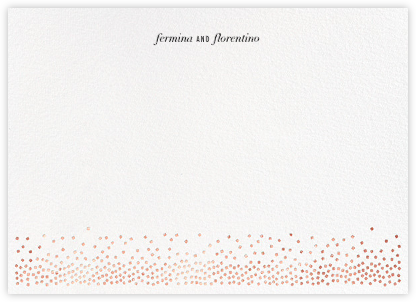 Jubilee II (Stationery) - Rose Gold | horizontal