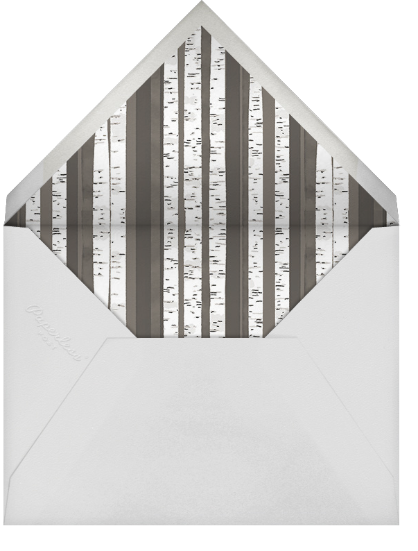 Birch Bark (Announcement) - Paperless Post - Envelope