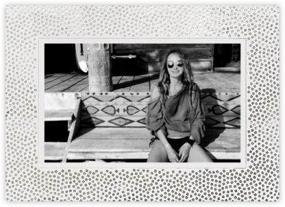 Konfetti (Horizontal Photo) - Silver - Kelly Wearstler -