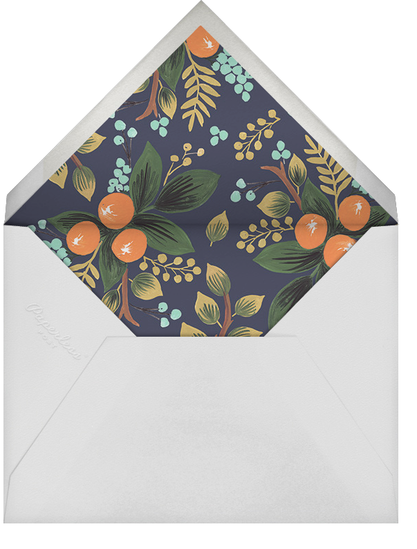 Orange Grove (Horizontal) - Rifle Paper Co. - Moving - envelope back