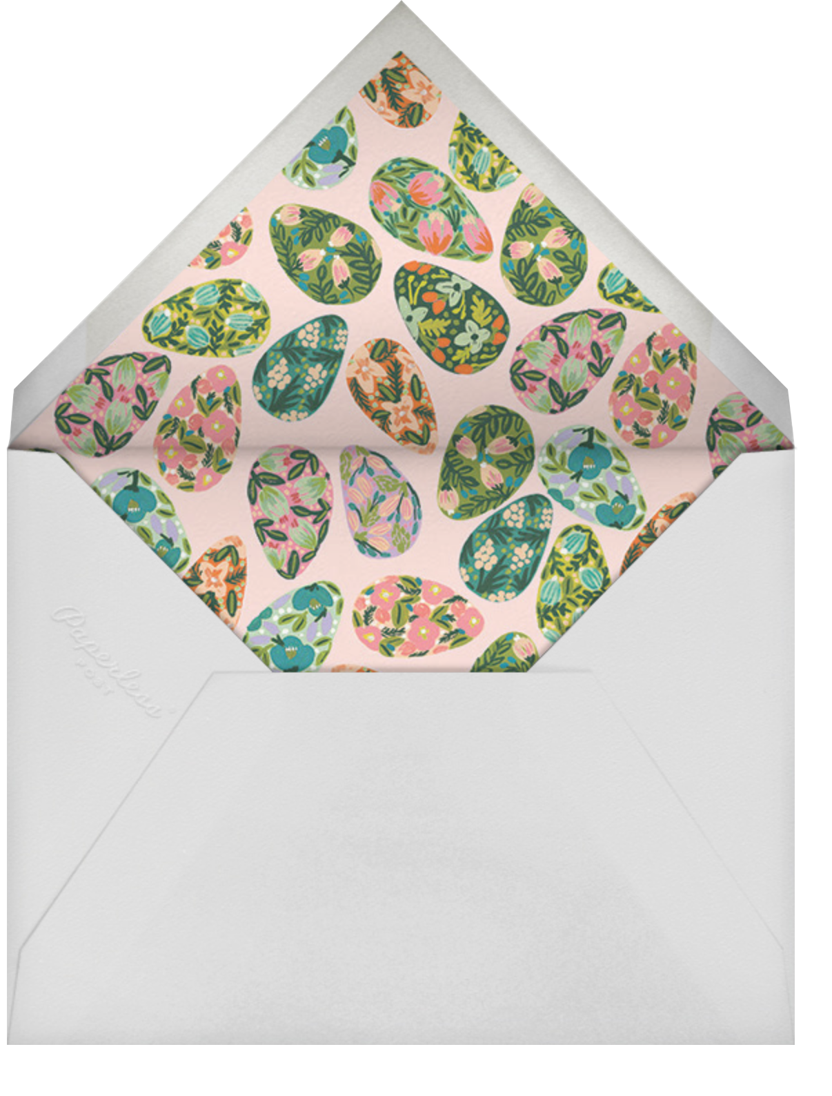 The Grass Menagerie - Rifle Paper Co. - Easter - envelope back