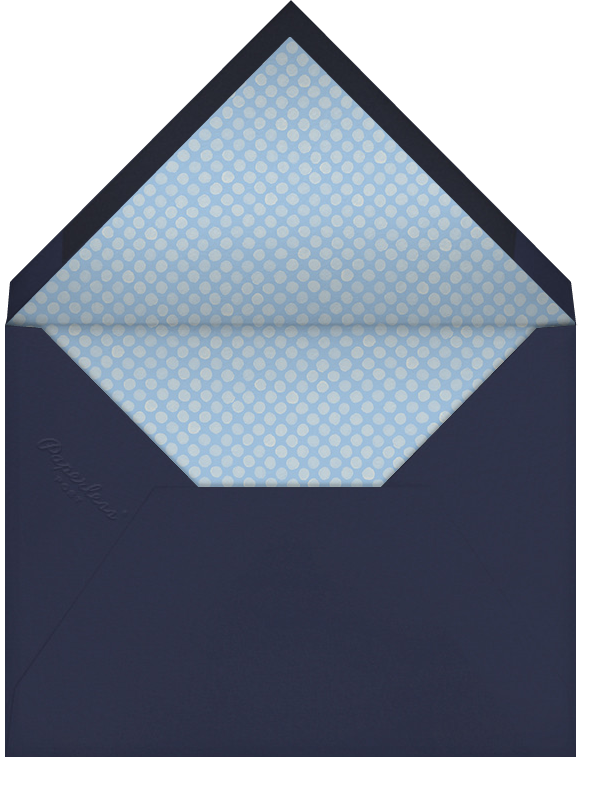 Navy (Tall) - Paperless Post - First communion - envelope back