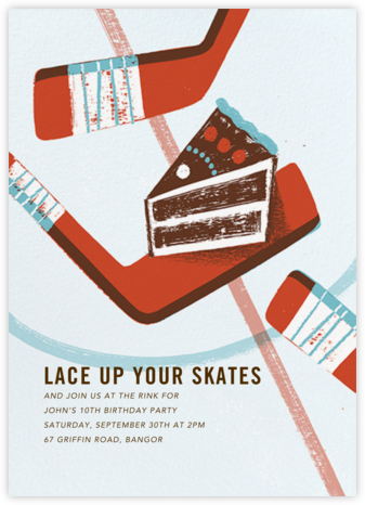 Party Puck - Paperless Post - Birthday invitations