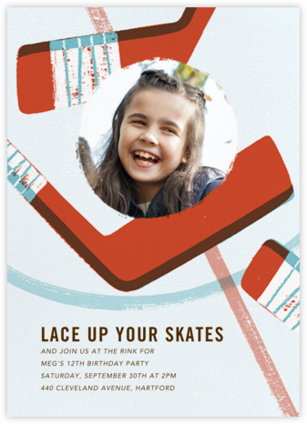Party Puck (Photo) - Paperless Post - Birthday invitations
