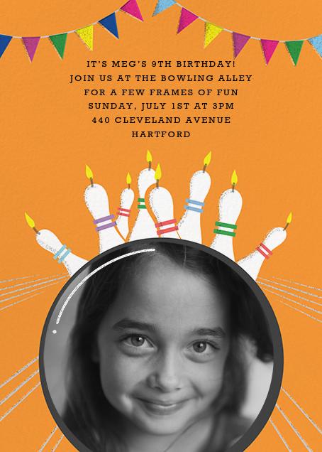 Strike (Photo) - Paperless Post - Kids' birthday invitations