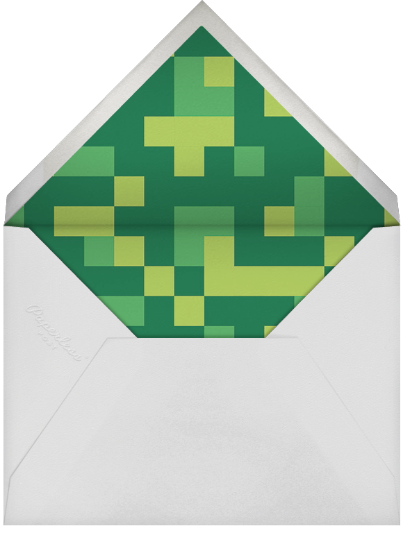 Pixelation Nation - Paperless Post - Kids' birthday - envelope back