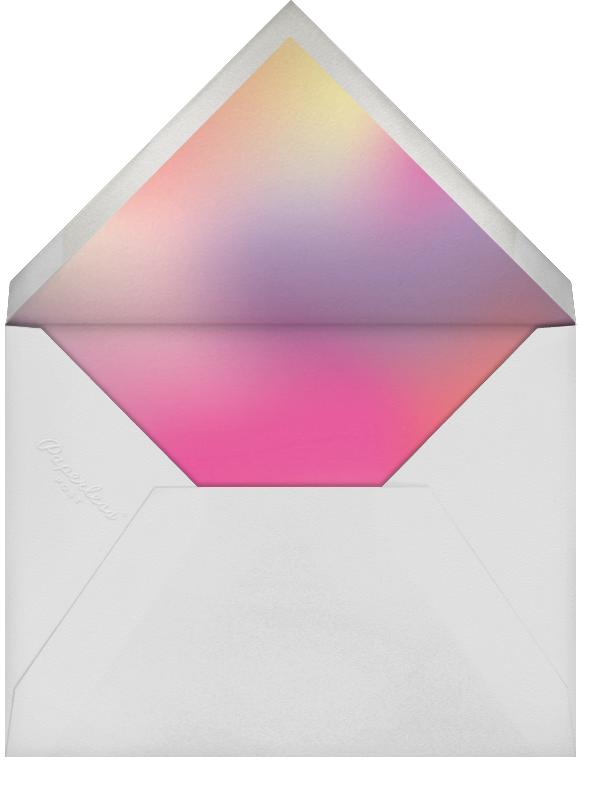 Neon Nights (Photo) - Paperless Post - Kids' birthday - envelope back