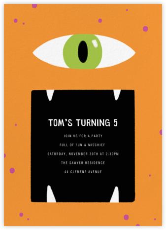 Hungry Eye - Paperless Post - Online Kids' Birthday Invitations