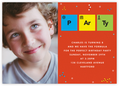Party Elements (Photo) - Paperless Post - Birthday invitations