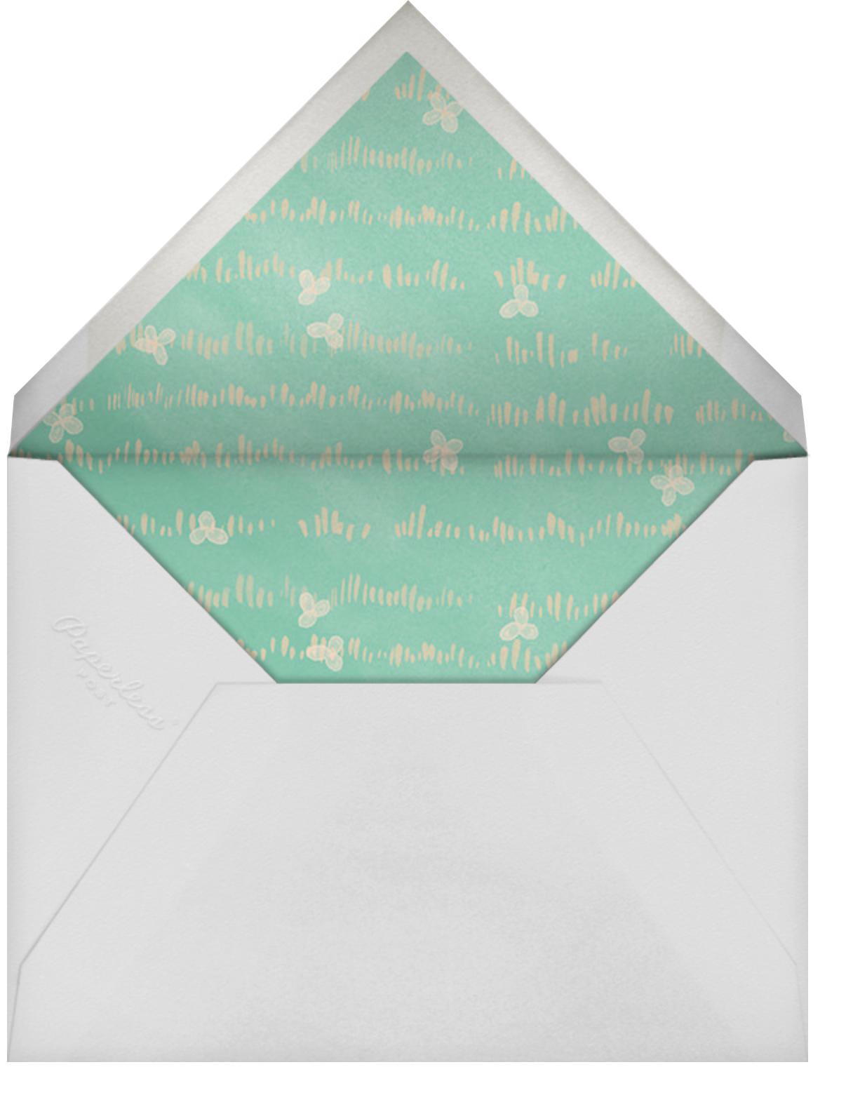 Shellabration - Paperless Post - Kids' birthday - envelope back