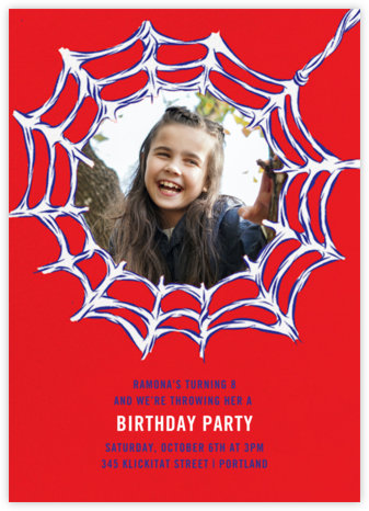 Webmaster (Photo) - Paperless Post - Online Kids' Birthday Invitations