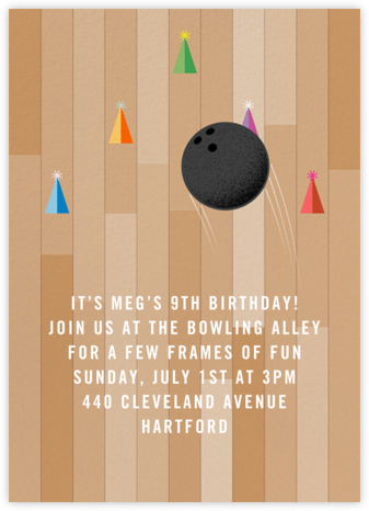 Fastlane - Paperless Post - Birthday invitations