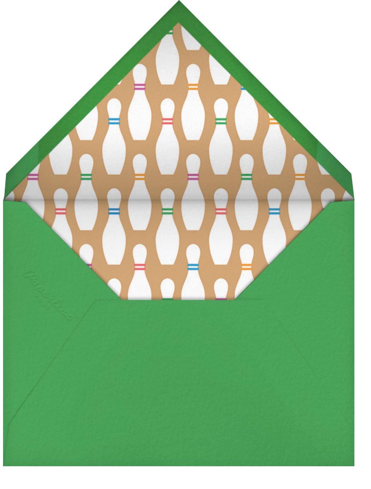 Fastlane - Paperless Post - Kids' birthday - envelope back