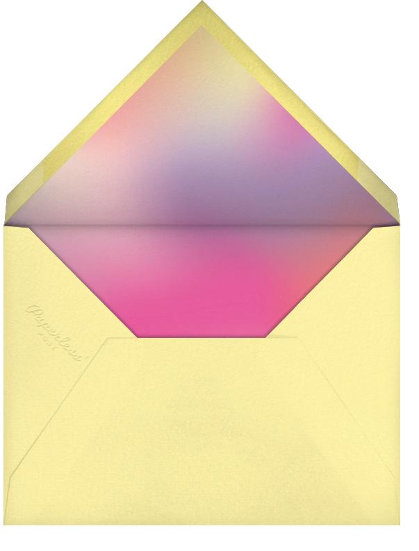 Bat Mitzvah Lighting (Photo) - Paperless Post - Bat and bar mitzvah - envelope back