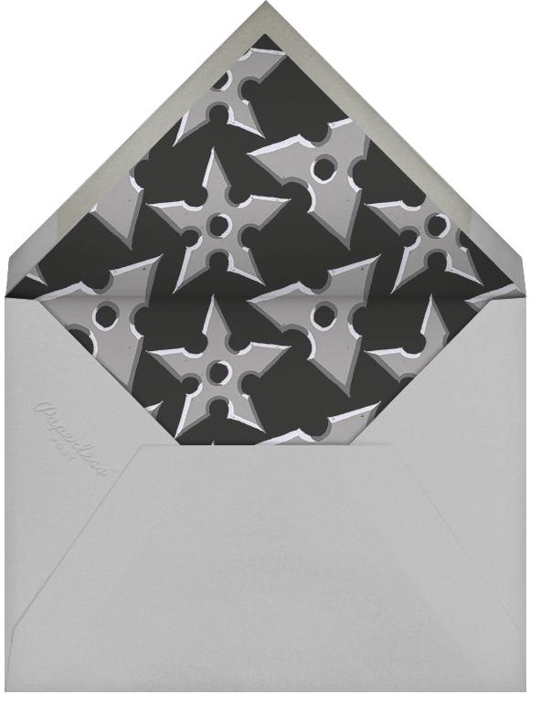 Stealth Slice - Paperless Post - Kids' birthday - envelope back