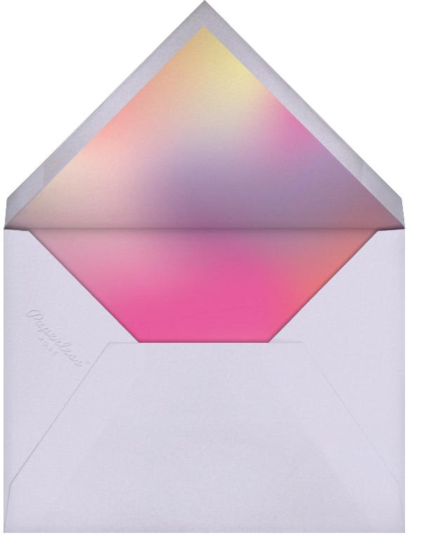 Bat Mitzvah Lighting - Paperless Post - Bar and bat mitzvah - envelope back