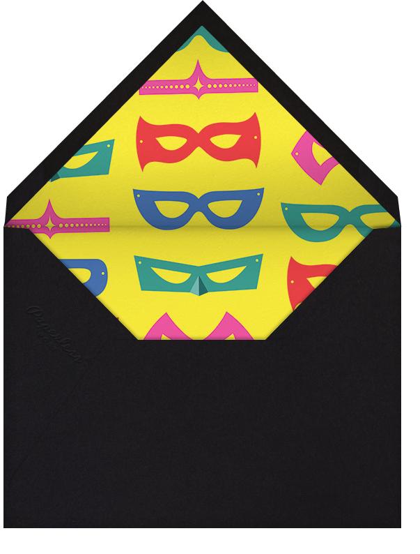 Superheroes - Paperless Post - Purim - envelope back
