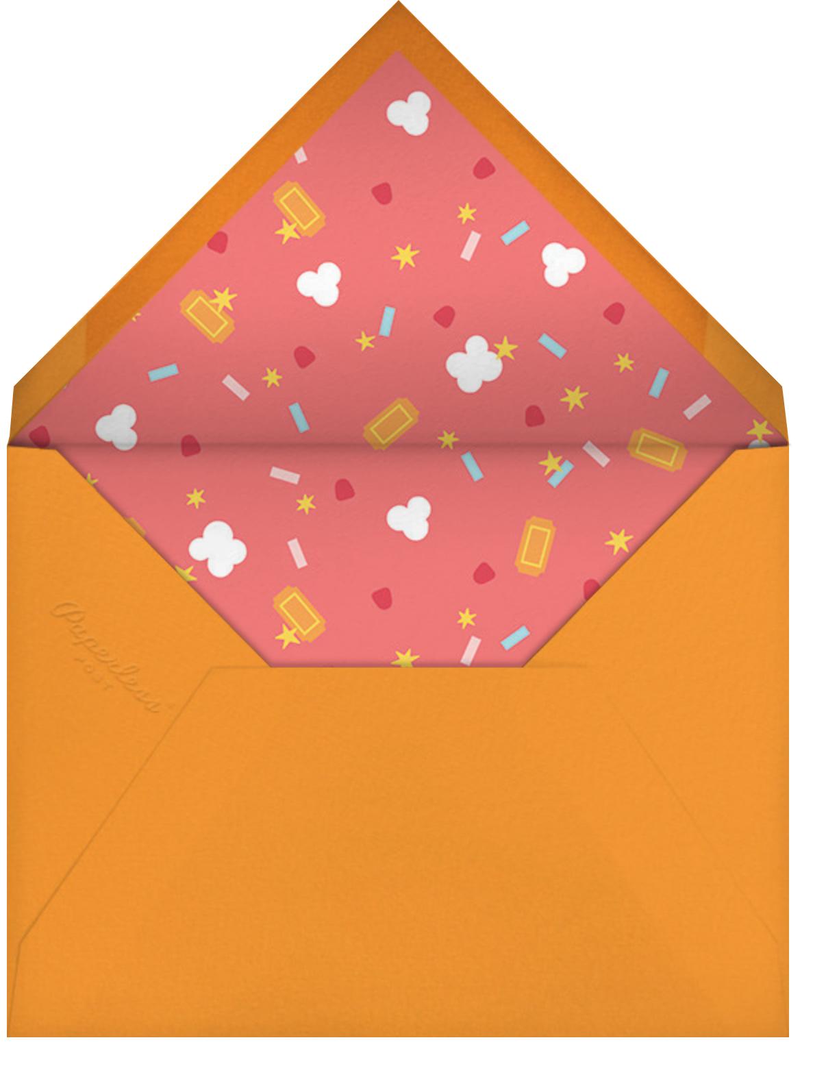 Filmfetti - Pink - Paperless Post - Kids' birthday - envelope back