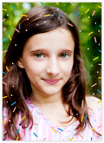 Sprinkles on Top (Photo) - Paperless Post - Online Kids' Birthday Invitations