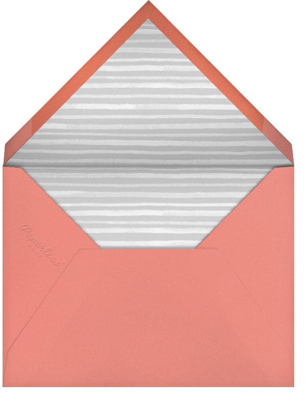 Tropical Palm (Photo Save the Date) - Papaya - Paperless Post - Envelope