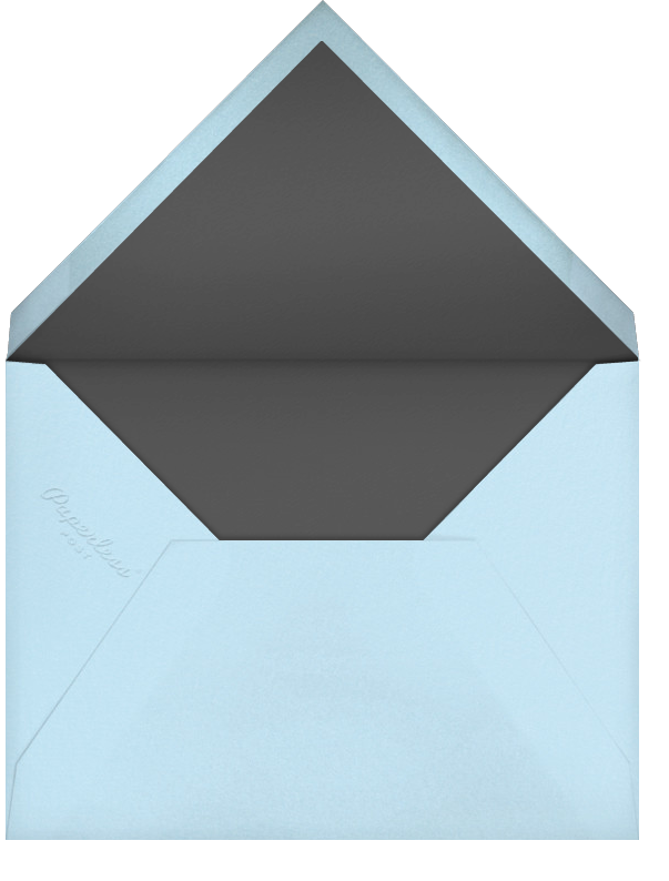 Memoir (Photo Save the Date) - Glacier - Paperless Post - Photo  - envelope back