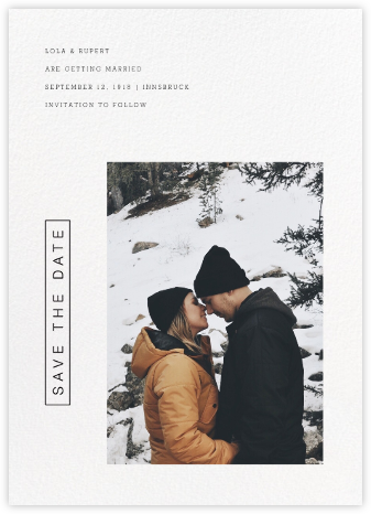Dossier - Paperless Post - Save the dates
