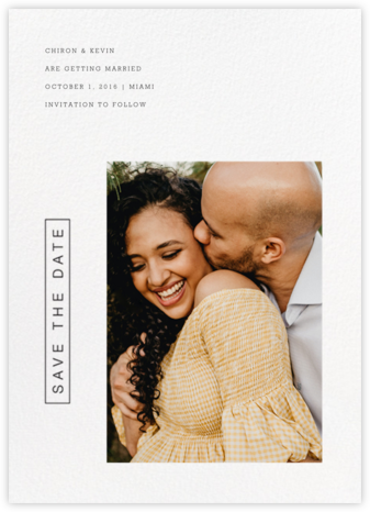 Dossier - Paperless Post - Modern save the dates